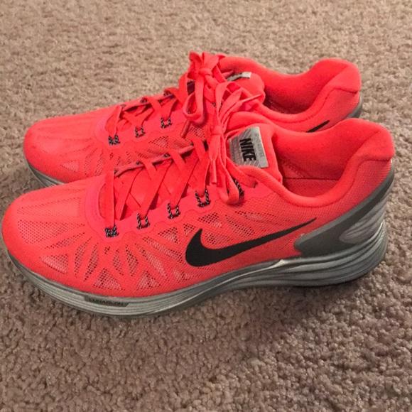 Neon Pink LunarGlide Nikes